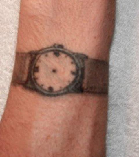 tatouages en prison   montre sans aiguilles  tatouage montre  #tatouage #prison #duflan